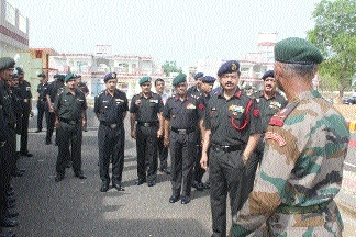 Lt Gen Rana opens accommodation for JCOs, other ranks at GRC