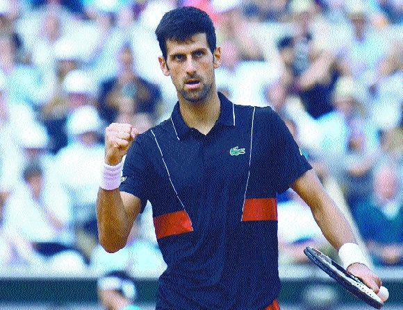 Djokovic to play Queen's Club before wimbledon