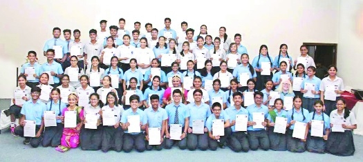 Centre Point Group of Schools felicitate IAYP awardees