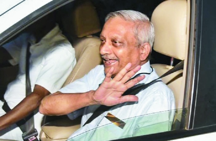 Goa CM back home after medical treatment in US