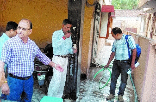 Water samples collected by IITR team at gas-affected colonies