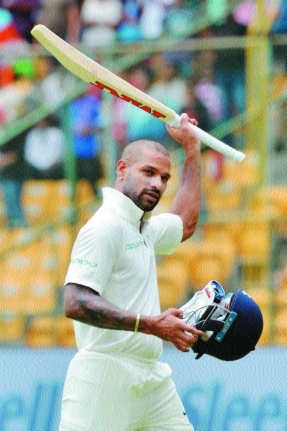 Afghan bowlers make comeback Vijay, Dhawan slam tons, India 347-6