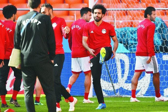 Salah boost for Egypt