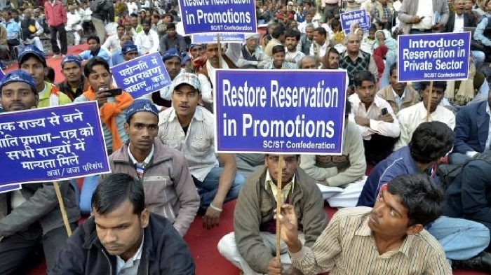 Implement quota in promotion to SC, ST: Centre to Deptts, States