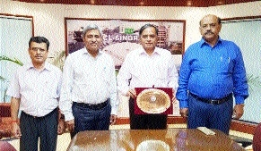 Northern Coalfields receives Apex India CSR Excellence Award