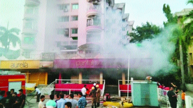 Garments, other materials worth lakhs destroyed in fire at Pantaloons outlet
