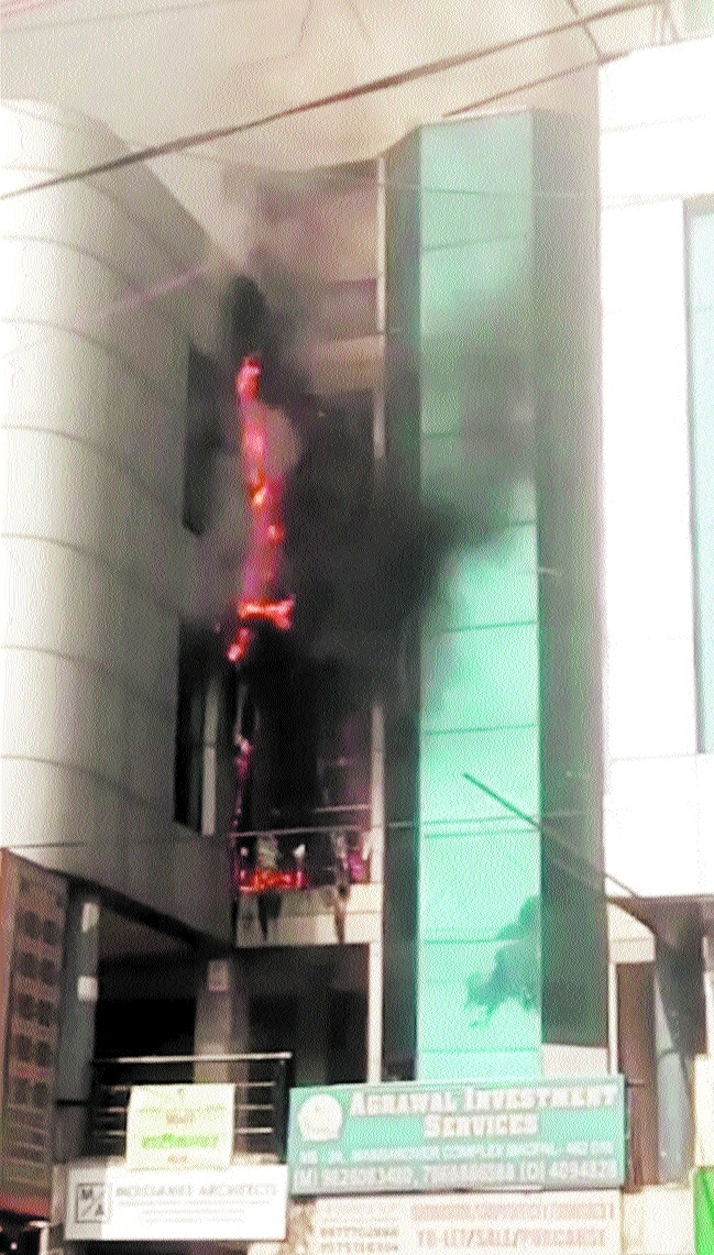 2 major fire incidents in a day raise safety concerns