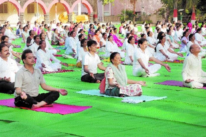 Yoga best way to keep diseases at bay: Governor Anandiben Patel