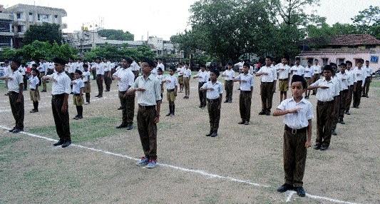 RSS celebrates Prakat Utsav of Bal Swayamsewaks