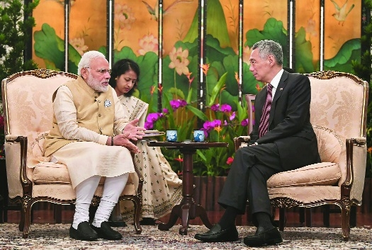 India, Singapore agree to deepen economic, defence ties; ink 8 pacts