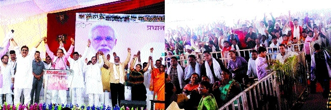 CM lays stone for works worth 200 cr at Khandwa, Burhanpur