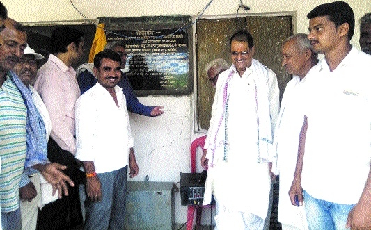 MLA Govind Singh dedicates works in villages