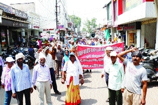 Grameen Dak Sevak organises rally in support of their demands