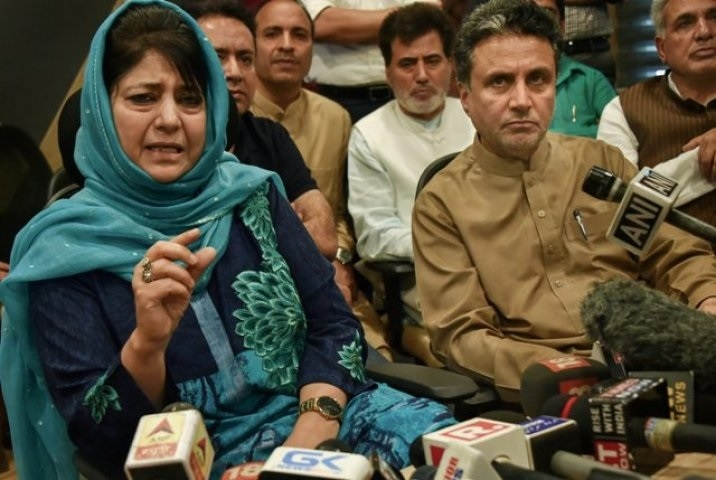 Governor's call ends Mehbooba's tenure