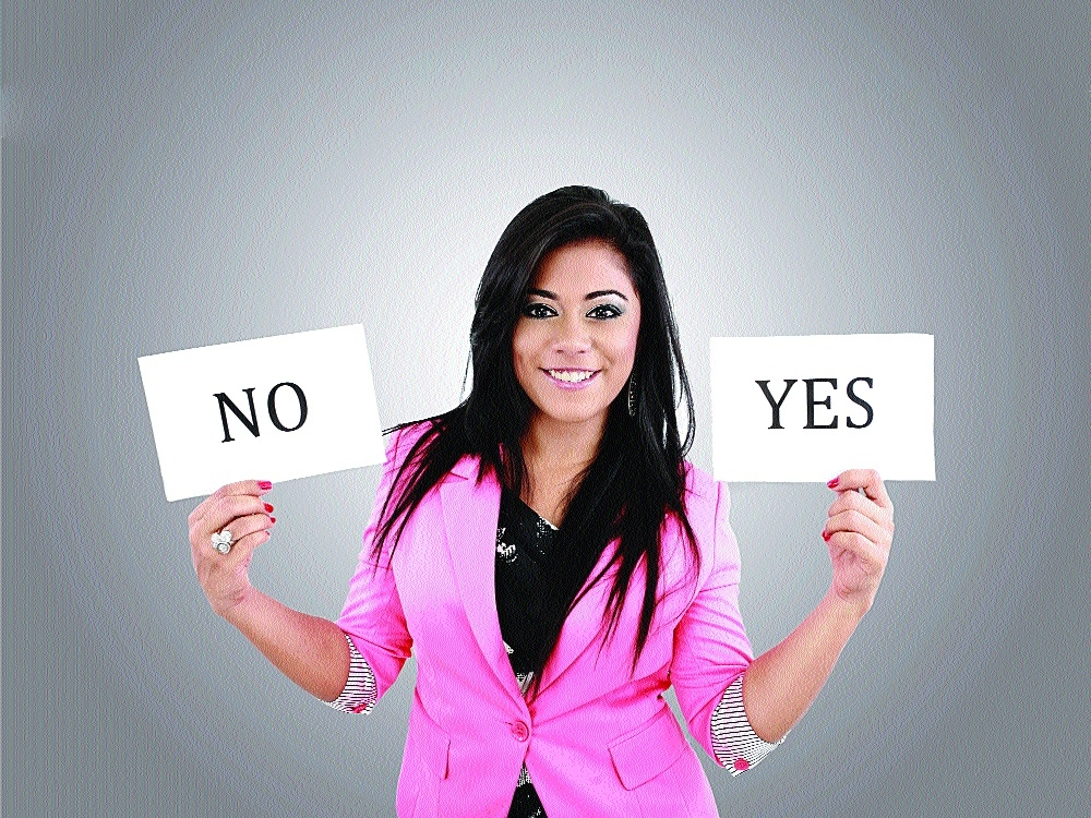 ENIGMA OF 'YES' AND 'NO'
