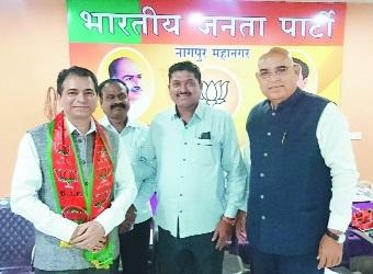 CA Milind Kanade appointed President of BJP Udyog Aghadi, Nagpur