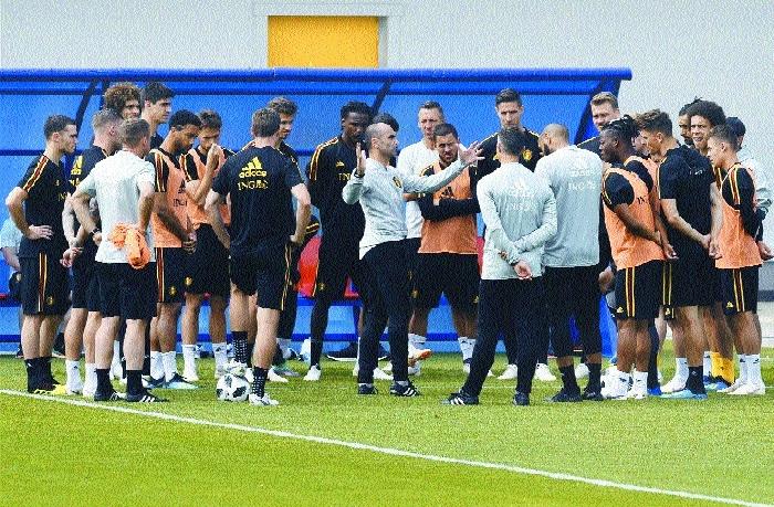 Belgium face Tunisia with eye on Eng