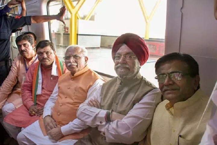 Modi flags off new Metro line between Delhi, Haryana