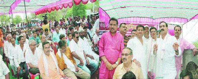 PR Minister Dr Mishra lays foundation of Rs 13.56 cr bypass road