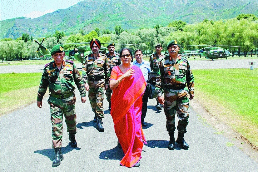 Nirmala reviews Amarnath Yatra security