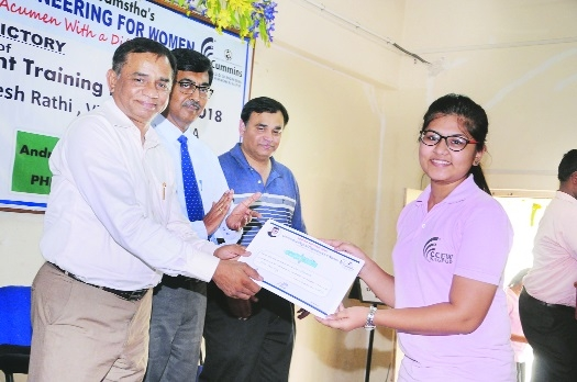Employability Enhancement Training Programme held at Cummins College