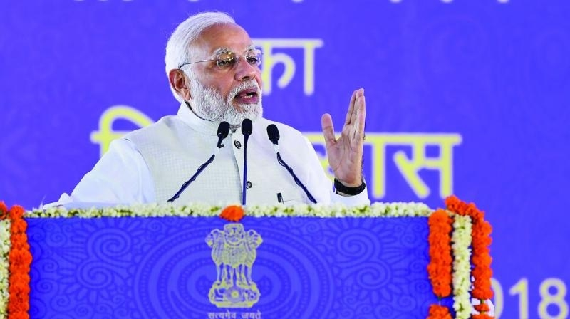 Social security cover extended to 50 crore subscribers, says Modi