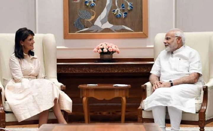 Modi, Haley discuss cooperation in counter-terrorism