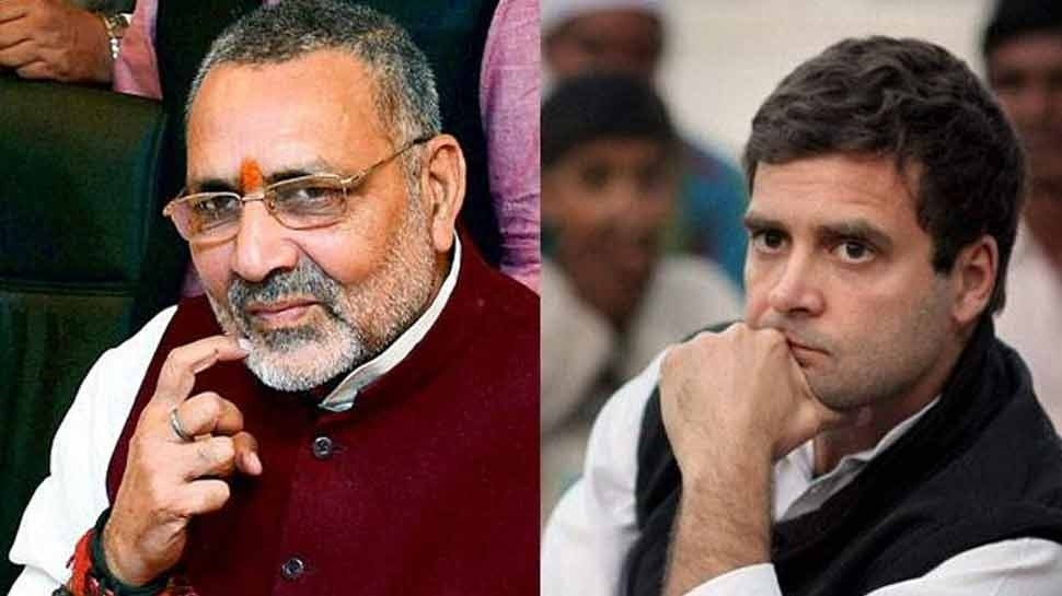 Those eating Rs 30,000 pizzas can't see Rs 12,000 salary jobs: Giriraj