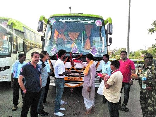 Sutra Sewa Bus Service: Maiden journey of AC bus to Chhindwara