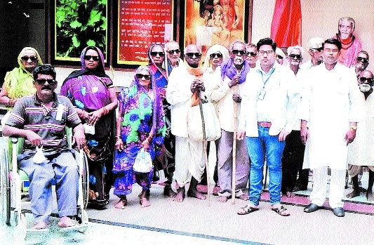 Around 270 people benefitted from free eye check-up camp