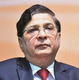 Chief Justice of India Deepak Misra arriving today