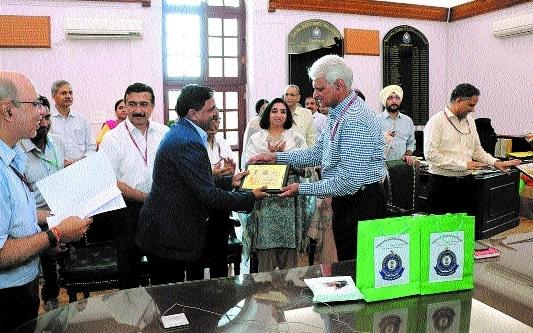 CGST, Jabalpur office 2nd in India's Best Clean 20 list