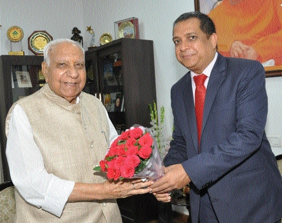 Indian High Commissioner to Uganda meets Governor