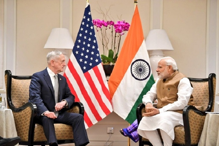 Modi, Mattis discuss security issues