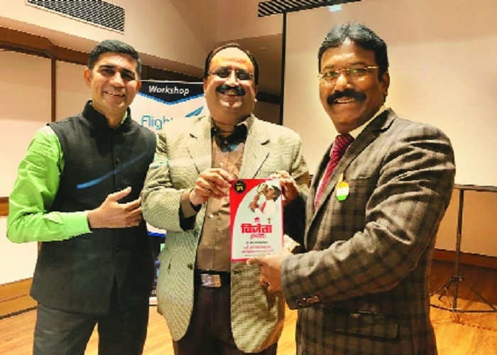 Pendharkar shares Vicco's success story with young entrepreneurs