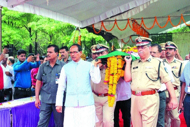 ASI Bhilala will be given martyr status: CM