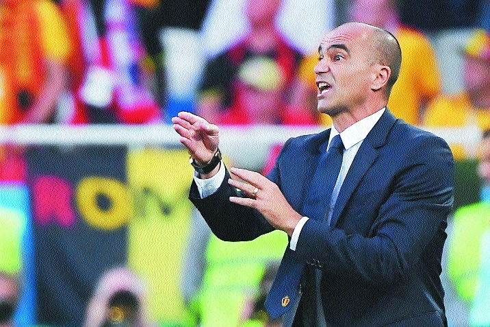 Martinez hails value of Belgium second string