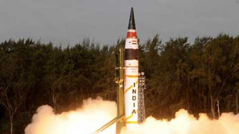 Nuclear capable Agni-5 test-fired successfully
