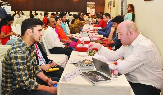 Overwhelming response to Krishna Consultants' Overseas Education Fair