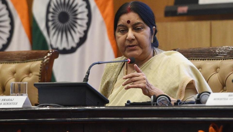 Take joint action against terror-funding: Sushma