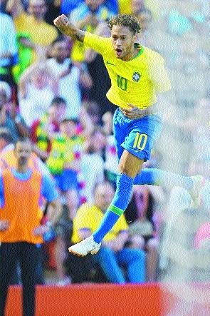 Brazil fans relieved after Neymar's return