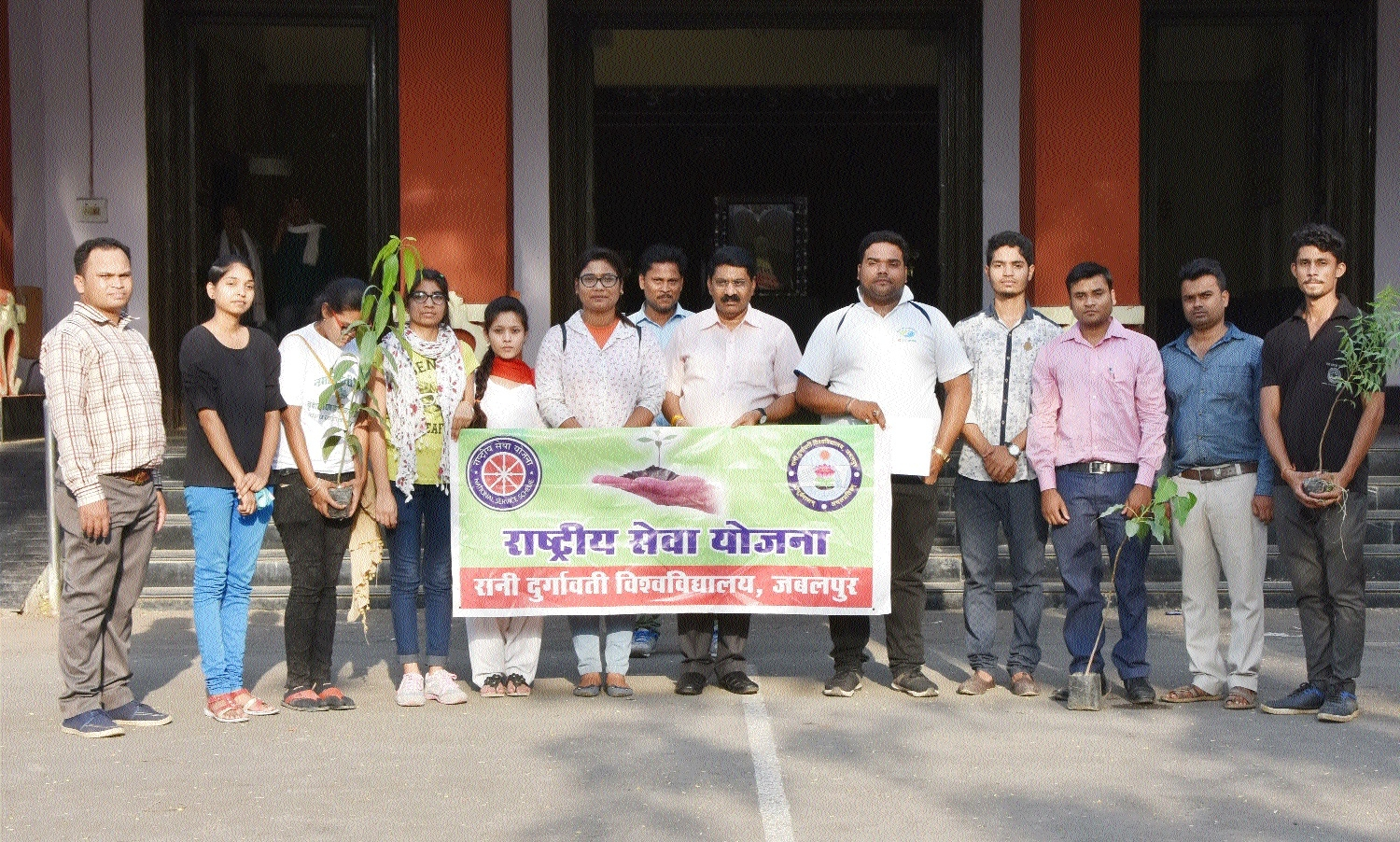 RDU's NSS unit takes out rally to mark Environment Day