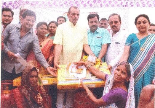 JMC takes out Vikas Yatra, holds Vikas Shivir at Suhagi