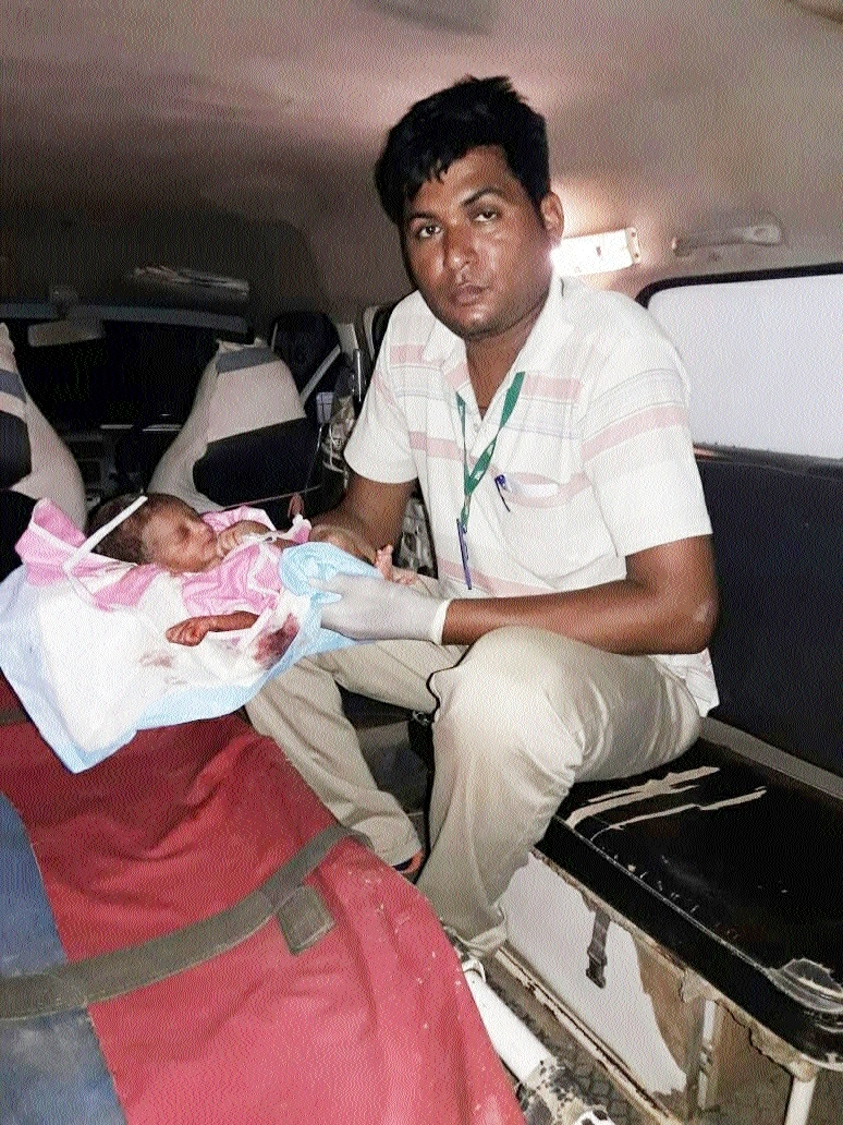 New-born baby found abandoned