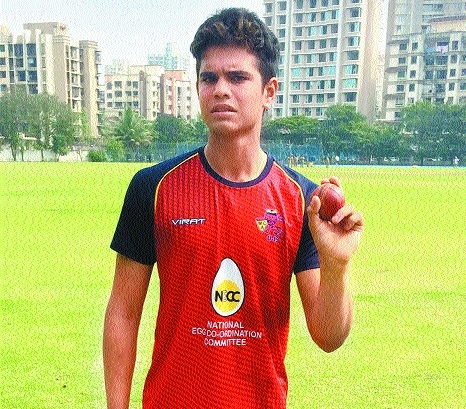 Arjun Tendulkar in India U-19 team