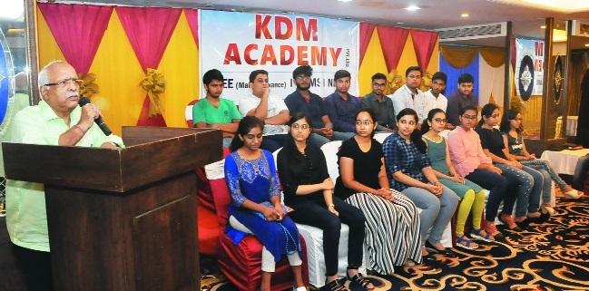KDM Academy students shine in NEET-2018 examination