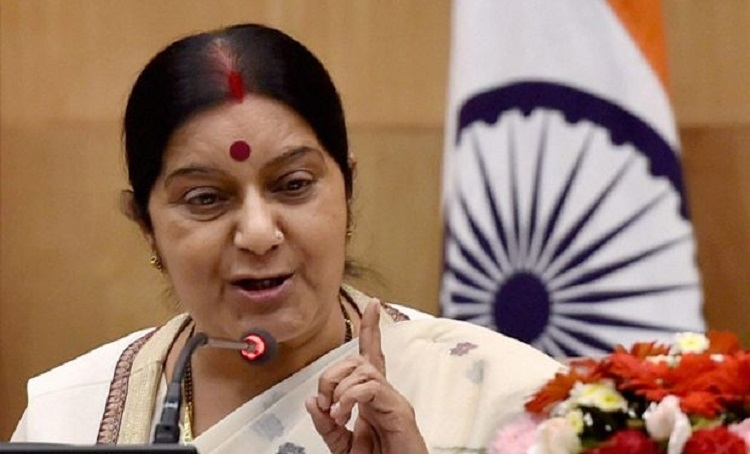 Sushma trolled on Twitter again, accused of Muslim appeasement