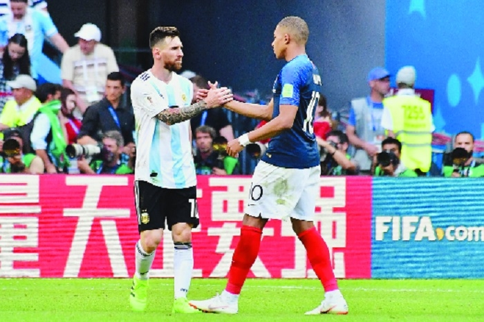 Mbappe eclipses Messi, Argentina