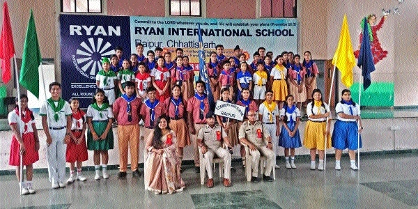 Investiture ceremony held at St Xavier School