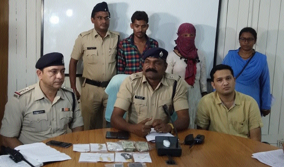 Woman, accomplices extort Rs 10 lakh from physically challenged man